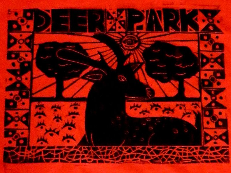 Deer Park (detail of shirt) by Phil Cummings