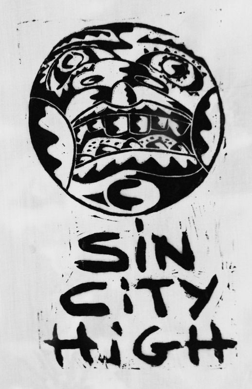 Sin City High cartouche by Phil Cummings