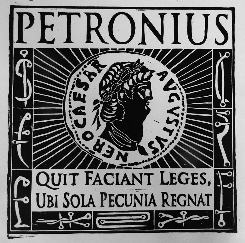 Petronius (Black) by Phil Cummings