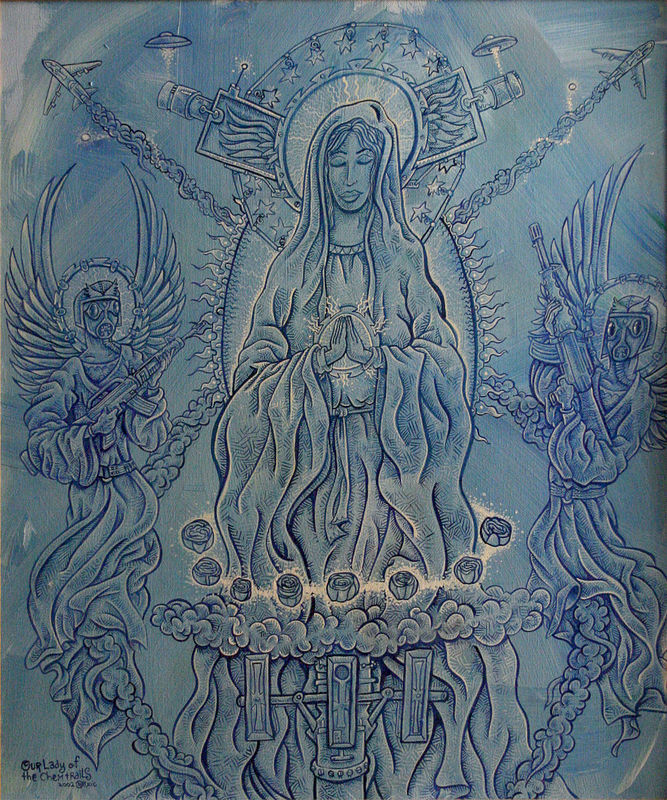 Our Lady of the Chemtrails by Kenneth M Ruzic