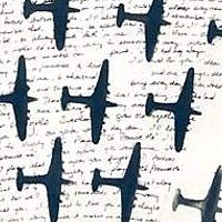 "detail of ""Love Songs and Aeroplanes"" 2000 by Belinda Harrow"