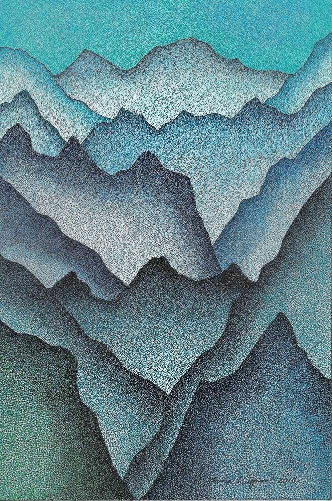 Drawing Peaks  by Lawrie  Dignan