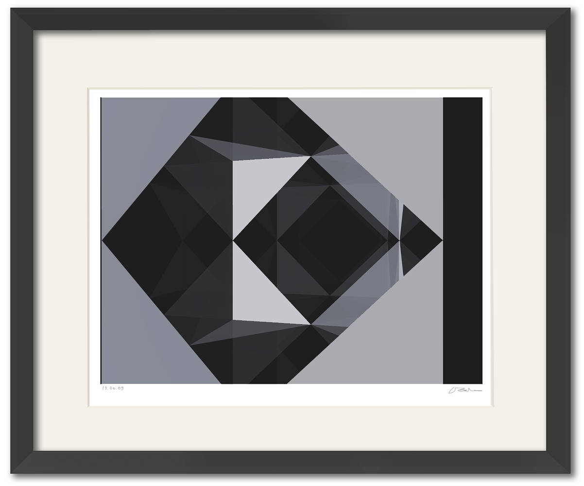 the CUBE-17 framed  by John  Douglas