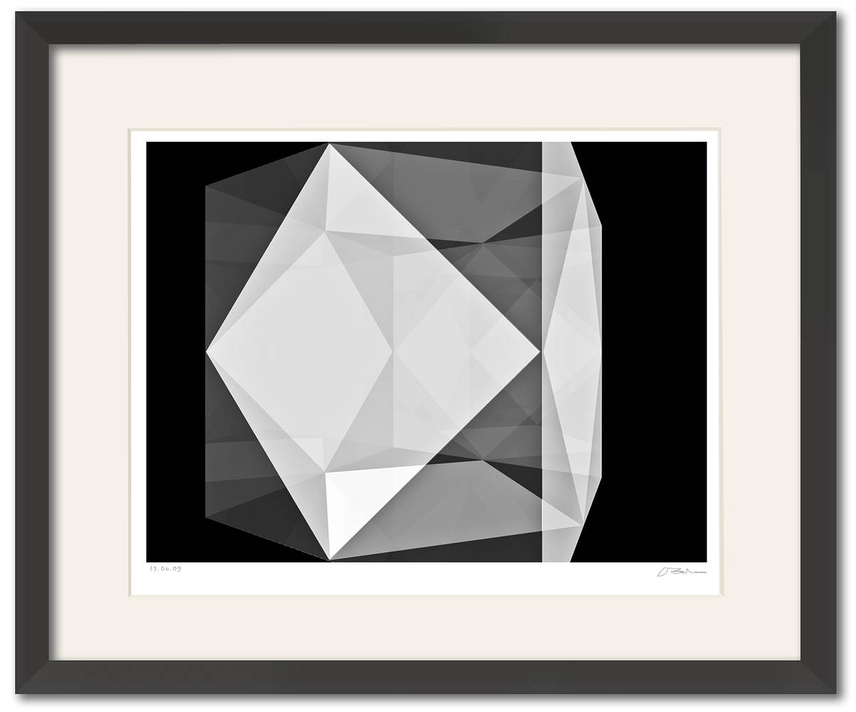 the CUBE-18J framed  by John  Douglas