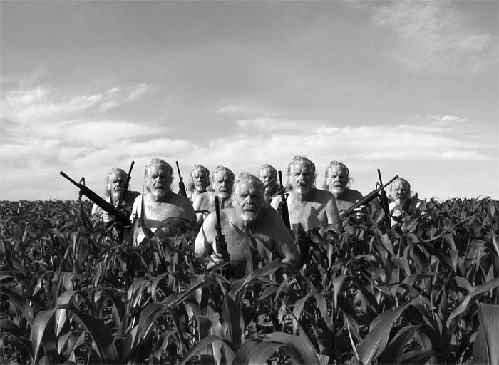 cornfield security  by John  Douglas