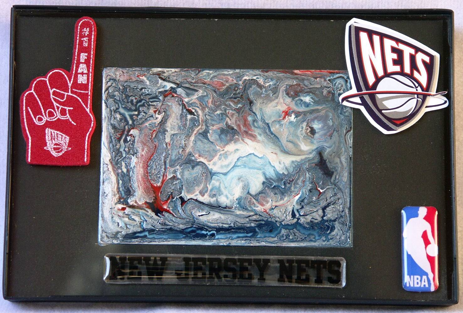 New Jersey Nets by Luis  Pagan