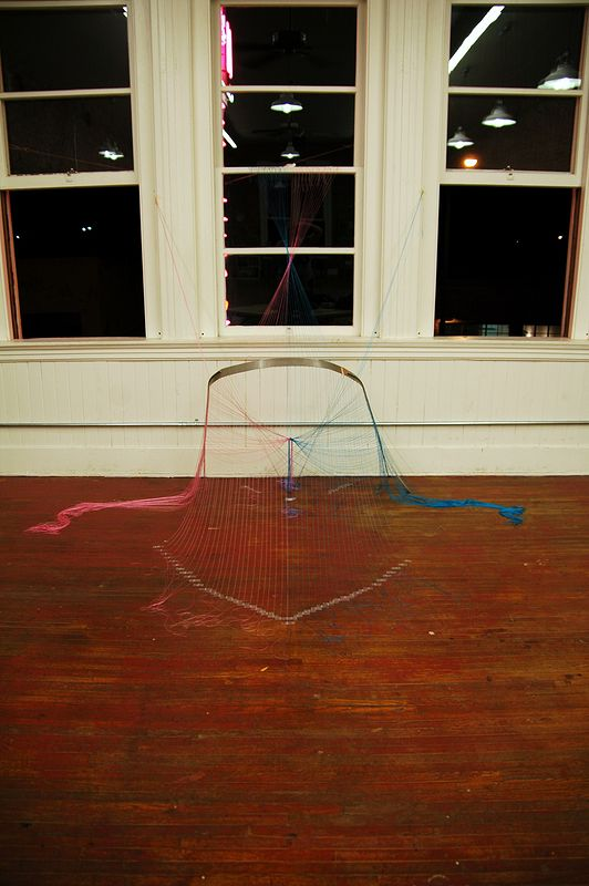 Drawing String Theory as Color theory by Jacqueline Bell johnson
