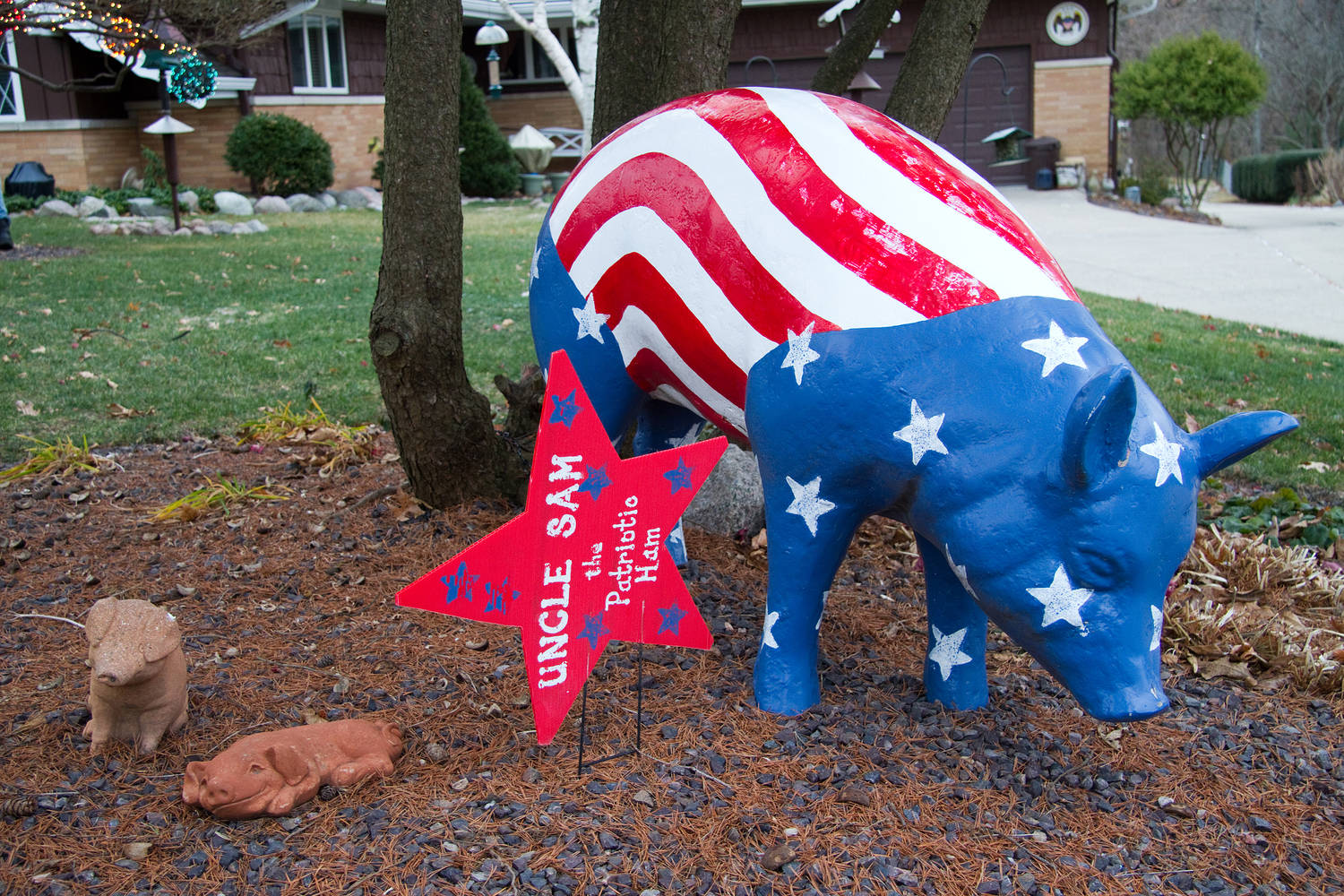 Political Pig, Peoria, IL by Ted Diamond