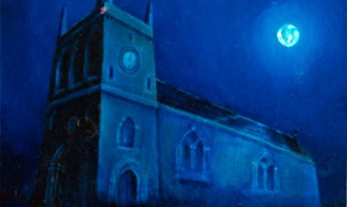 Moonlitchurch-500 by Richard Mountford