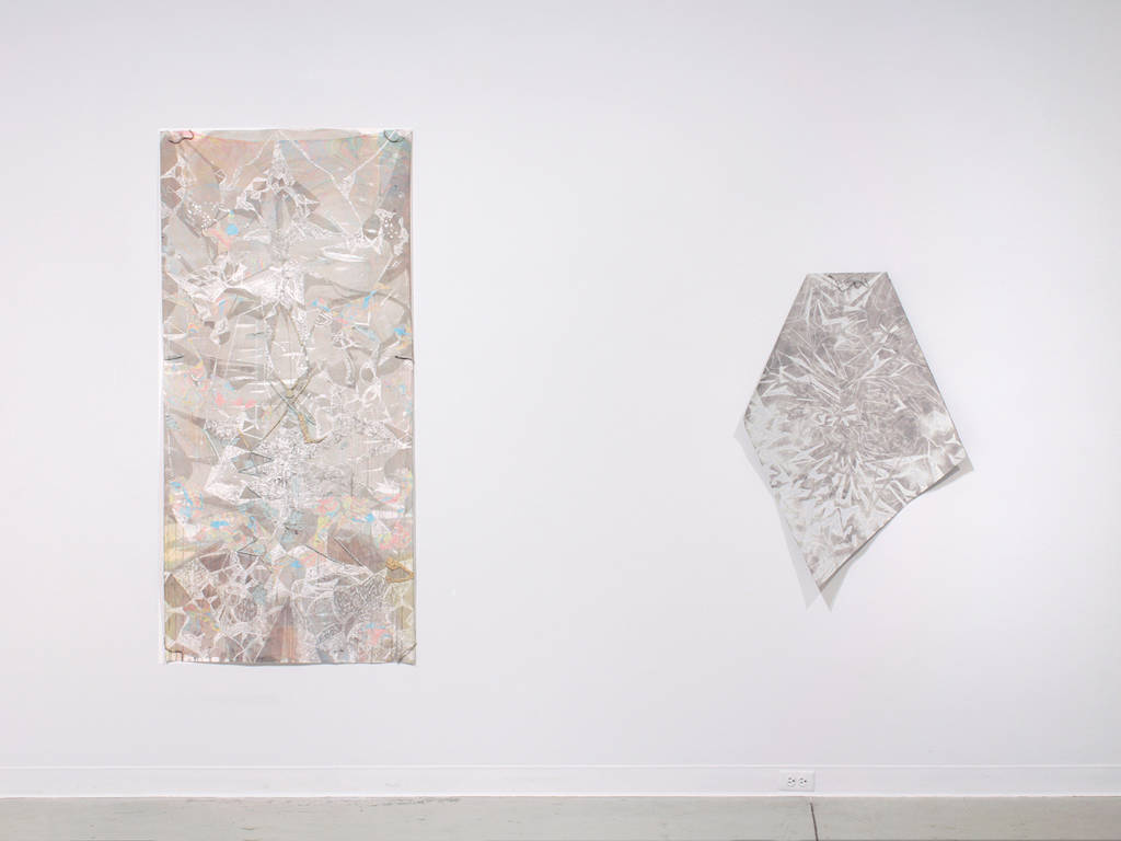 Drawing surfacing (left) lining (right) by Thea Yabut