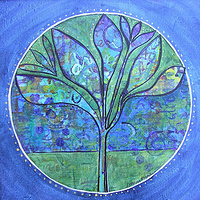 Night Window 2  (Dream symbol) by Kathleen Horne