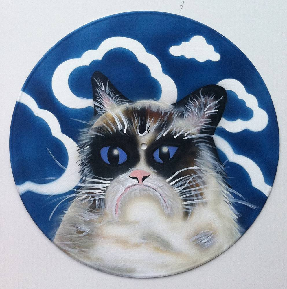 Grumpy Cat by Isaac Carpenter