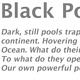 About the 'Black Pool' series... by Lori Sokoluk