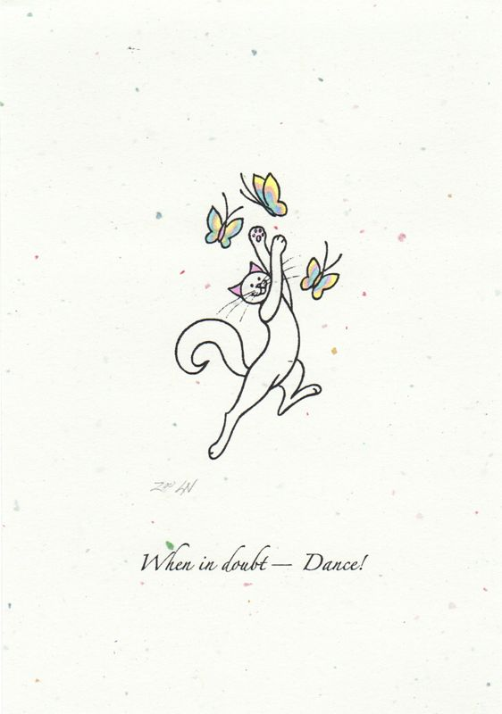 Print When in doubt--dance! by Sue Ellen Brown