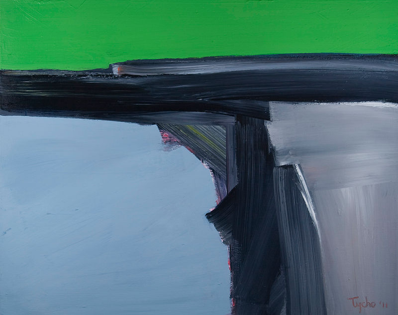 Acrylic painting Vital Gesture #15  by David Tycho