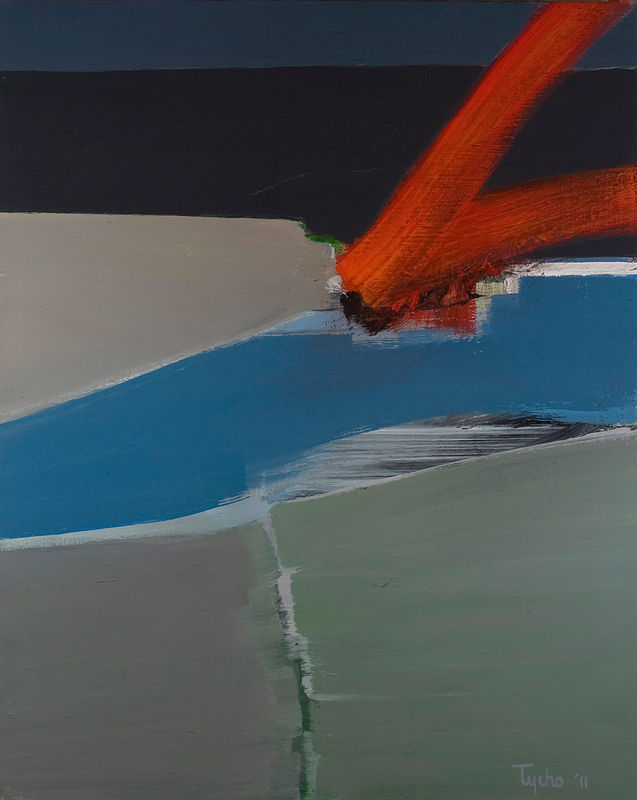 Acrylic painting Vital Gesture #8 by David Tycho
