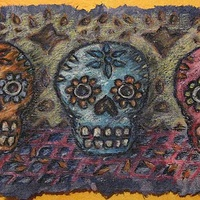 Drawing Calaveras by Emily K. Grieves
