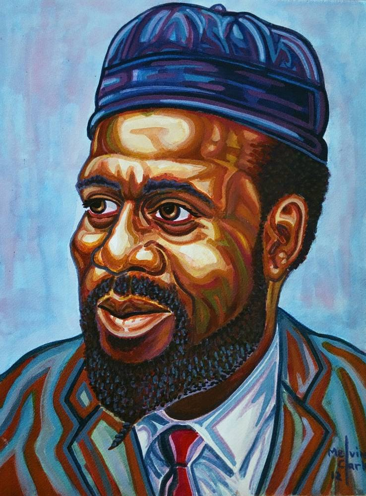 """Thelonious Monk"" by Melvin Clark"