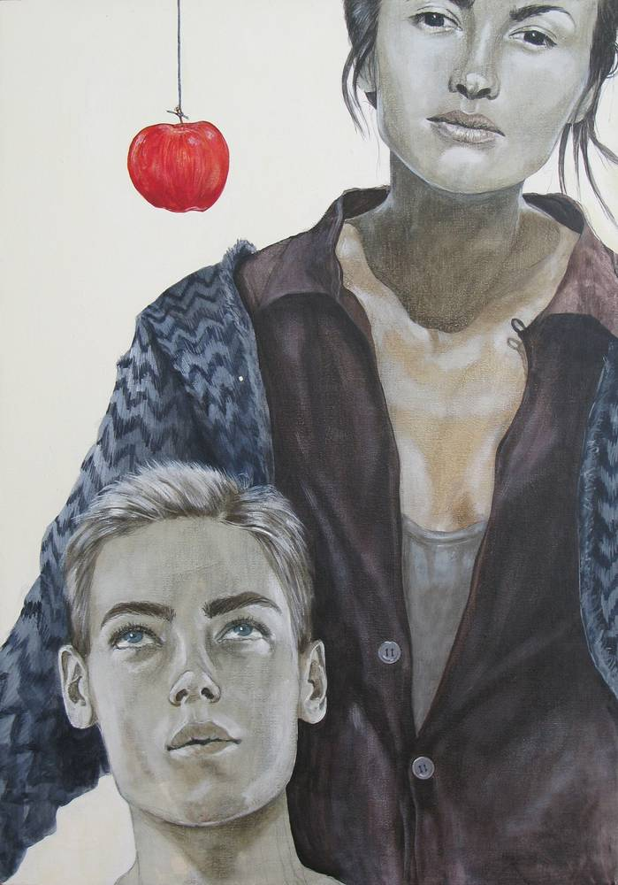Acrylic painting Popular Fiction by Amber Macgregor