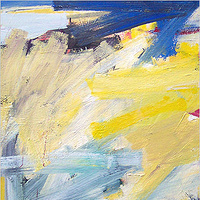 Acrylic painting Elements #11 by David Tycho