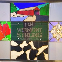 Drawing Vermont Strong by Kevyn Cundiff