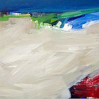Acrylic painting Elements #43 by David Tycho