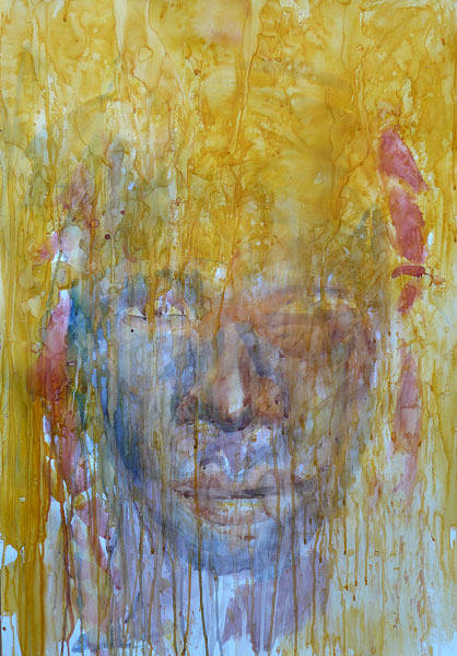 Watercolor Fading 1 by Boudewijn Korsmit