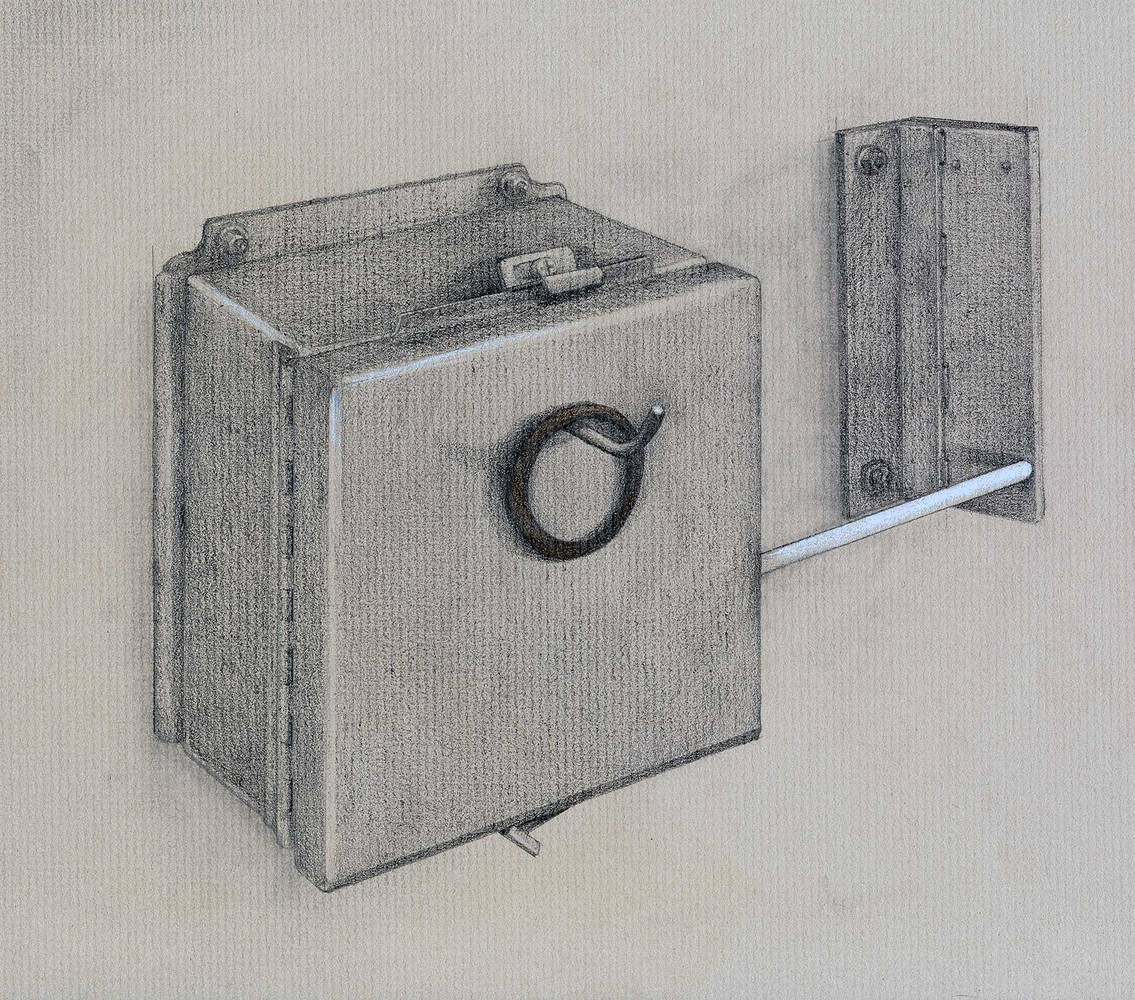 Drawing RECEPTACLE  by Amie t. Rangel
