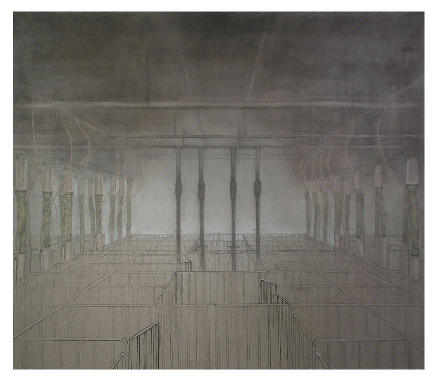 Drawing GESTATION ROOM, 114 DAYS by Amie t. Rangel