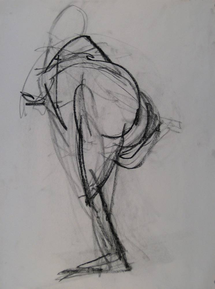 Drawing GESTURE II by Amie t. Rangel