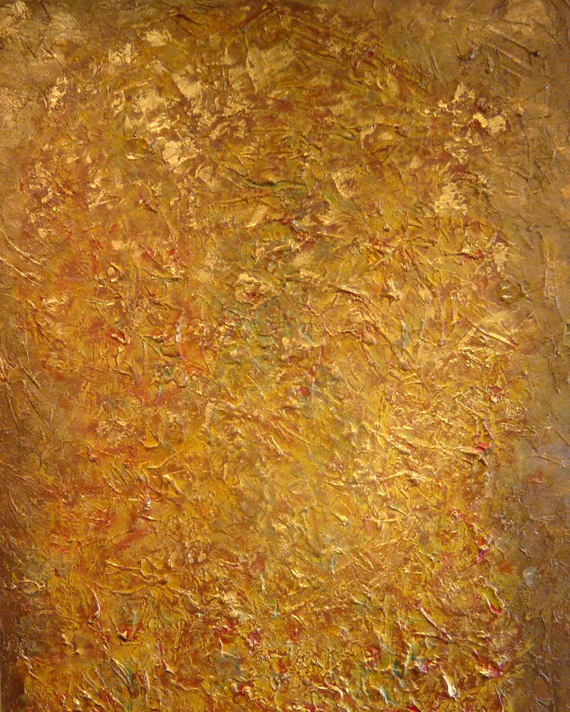 Acrylic painting GOLDEN PRIZE  by Jose Londono