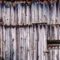 Print Mosaic Barn by Mark Essner