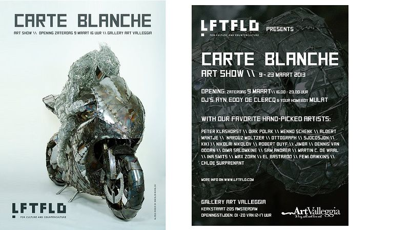 LFTFLD Carte Blanche, Gallery Art Valleggia by Chloé Surprenant