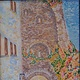 Oil painting Templar Entrance-Griox de Bains,France by Gary Doll