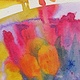 Painting Tulips 12 by Lori Sokoluk