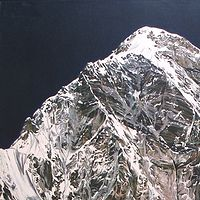 Oil painting Himalaya #12, 1975 by David  Maxim