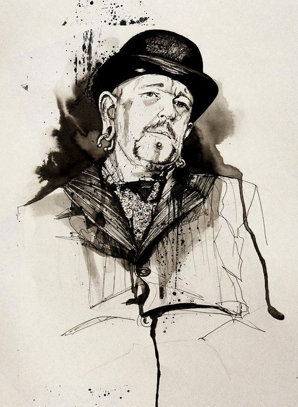 Drawing Guy Denning by Joni Belaruski