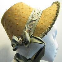 Fabric Bonnet by Angela Dale