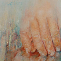 Oil painting Things are not Always as They Seem by Liba Labik