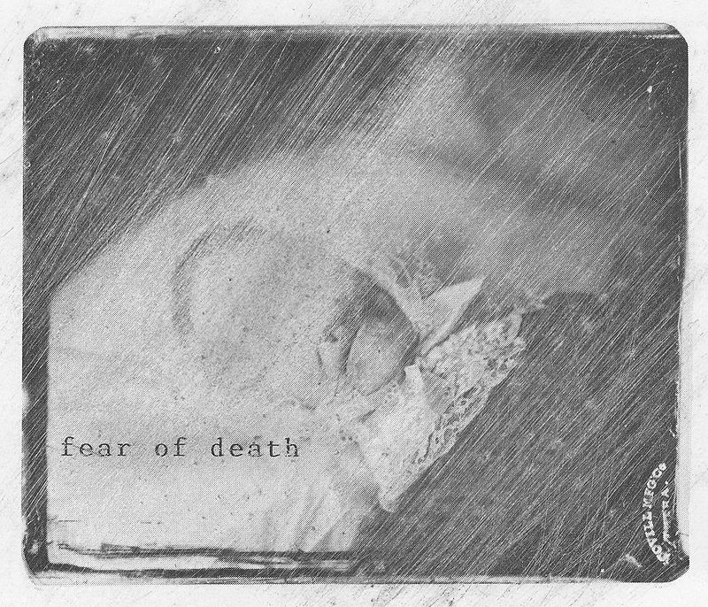 Drawing fear of death by Guillaume Vallée