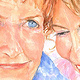 Mom and Daughter by Deborah Carman