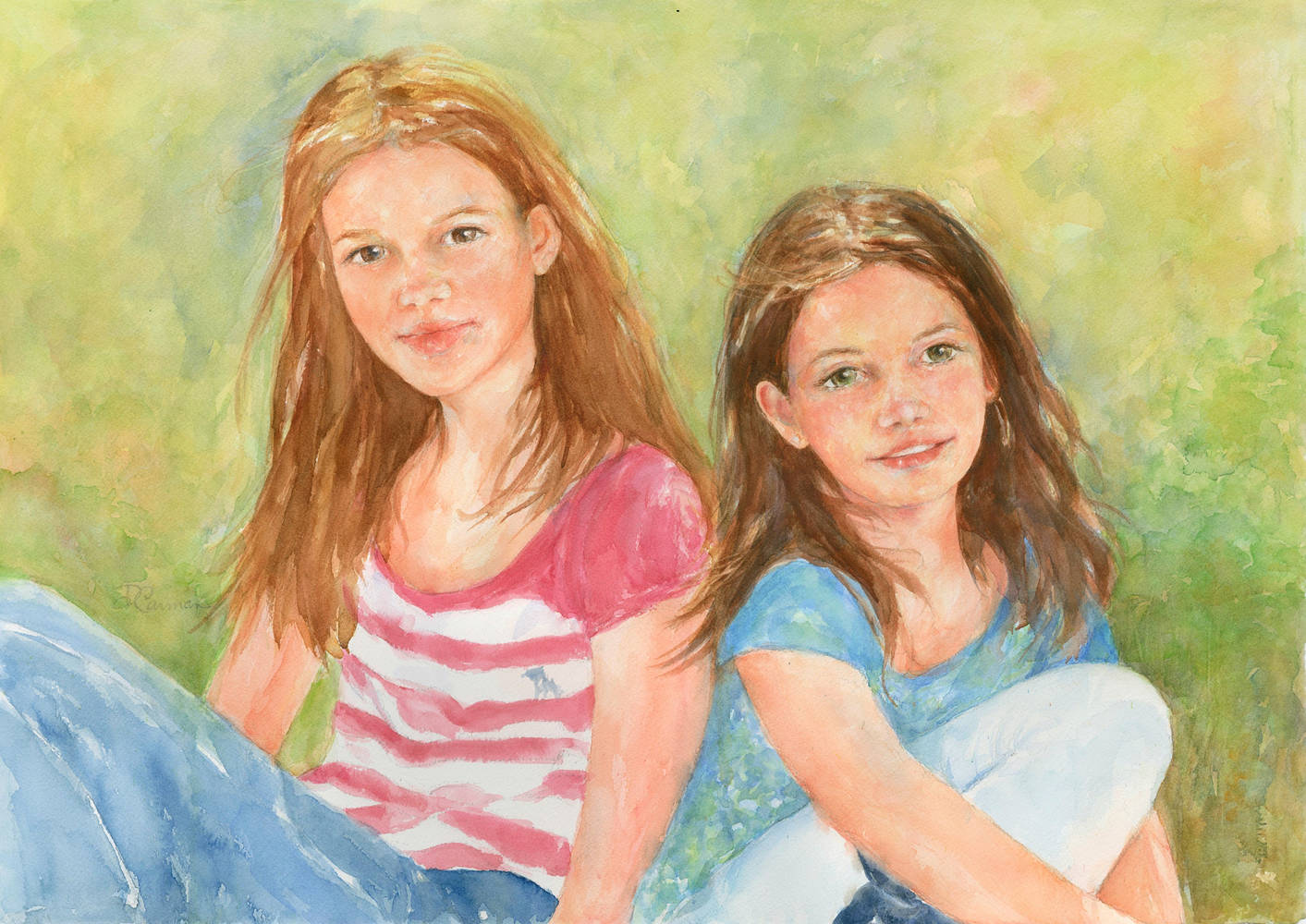 Sisters by Deborah Carman