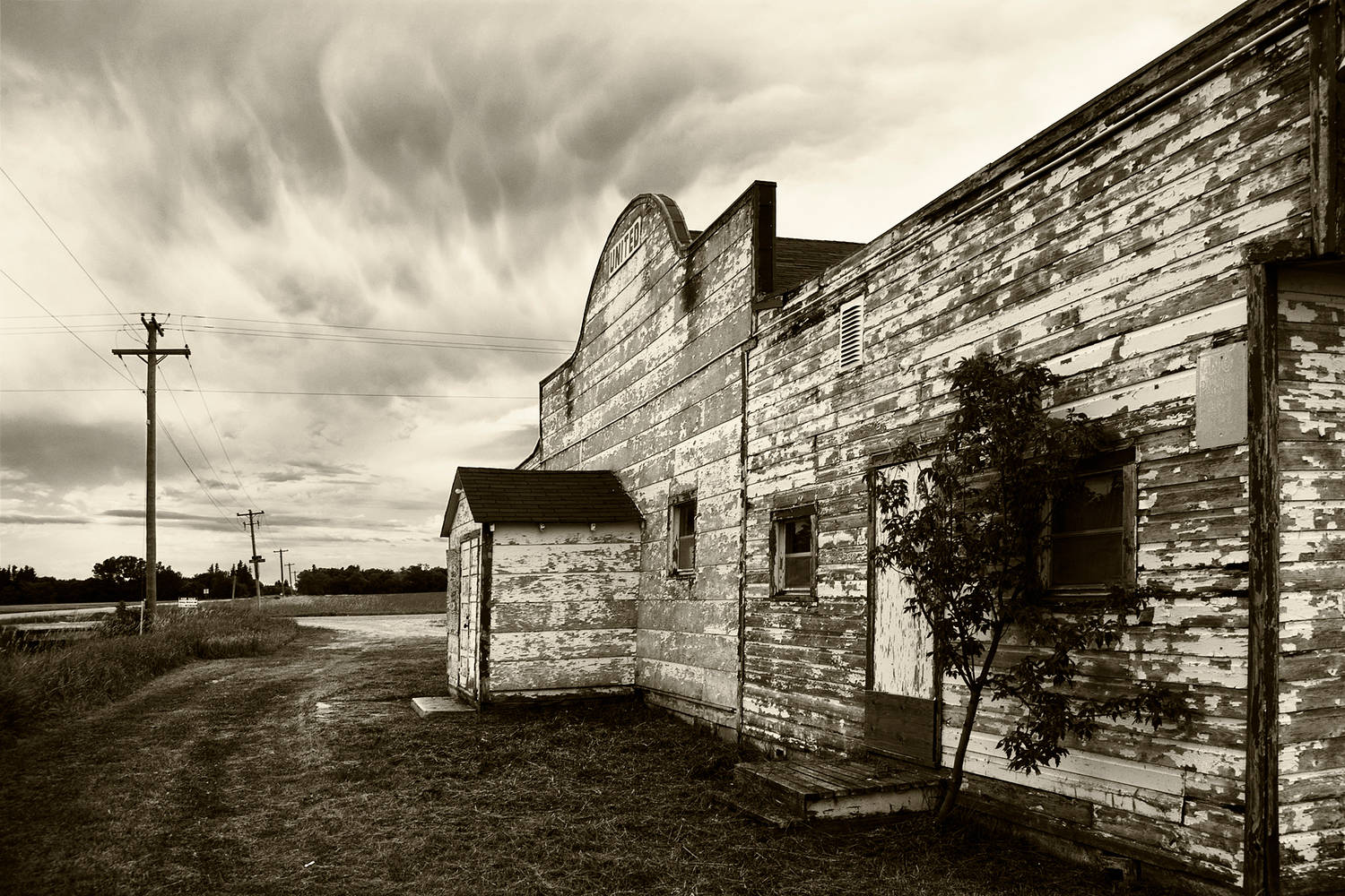 Weathered Store by Jim Friesen