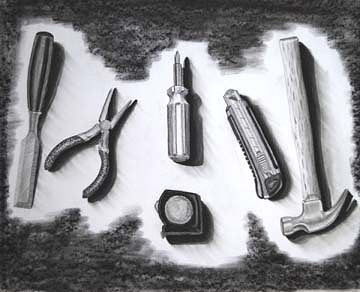 Drawing Tool Drawing by Clayton King