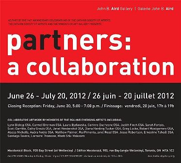 pARTners: a collaboration: Poster by Clayton King