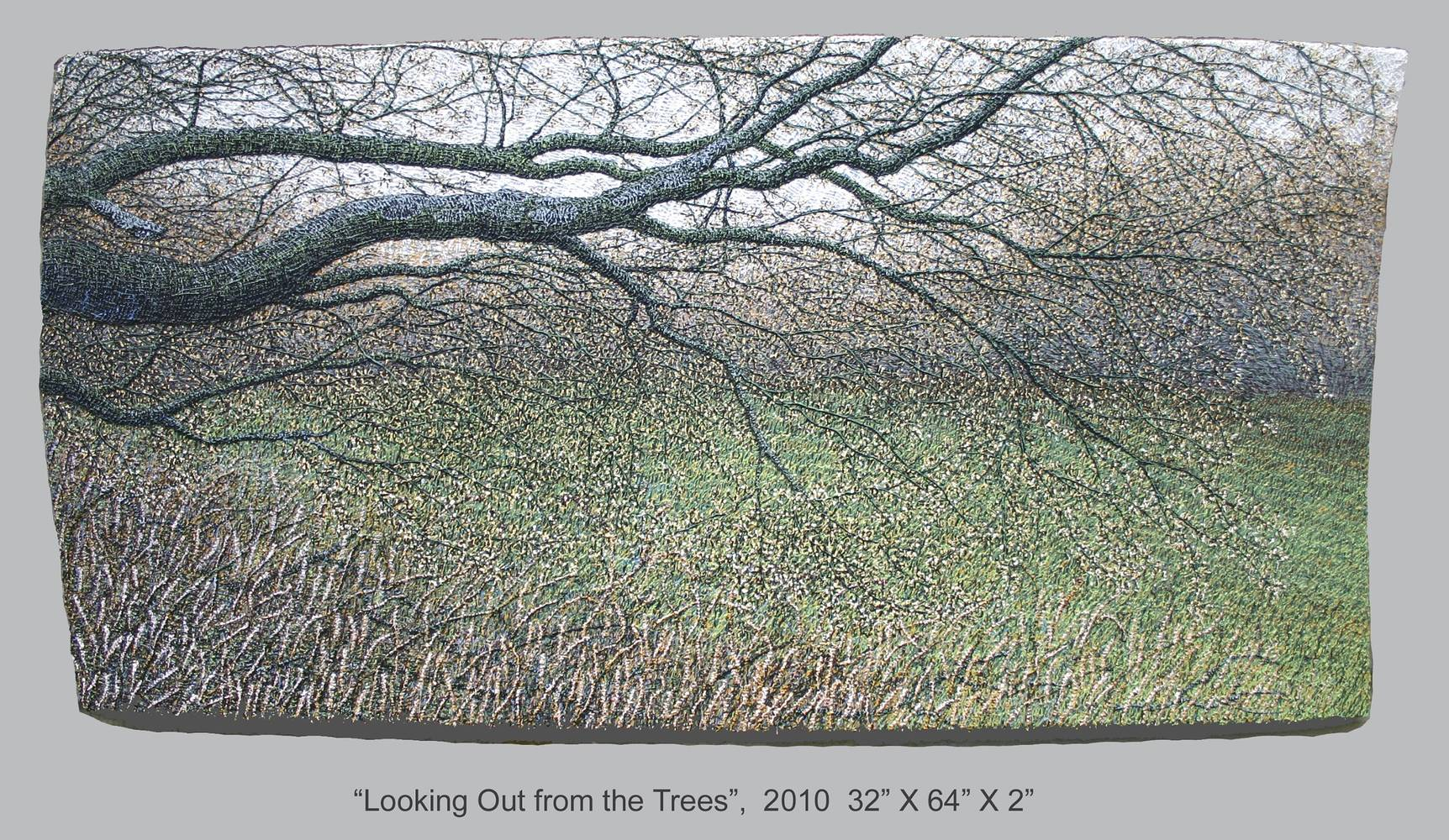 Looking Out from the Trees, 2010 by Douglas Moulden
