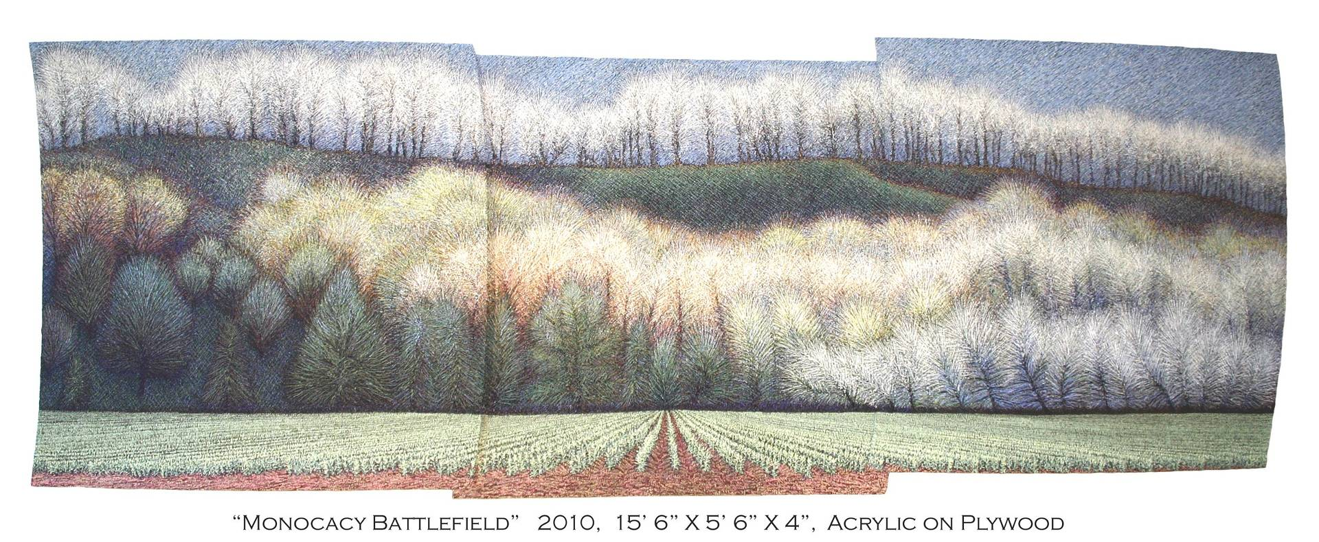 Monocay Battlefield, 2010 by Douglas Moulden