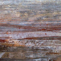 Acrylic painting Neutral Horizon by Agnes Friedlander