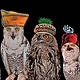 Photography OWLS WITH HATS  by Joeann Edmonds-Matthew