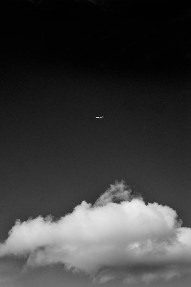 Cloud & Plane by Jim Friesen